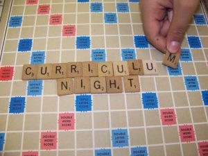Curriculum Night on Sept. 22, 2016