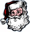 Reading with Santa Night, Dec. 7 at 6:30 pm